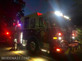 Engine 2 on scene at 208 woodland drive